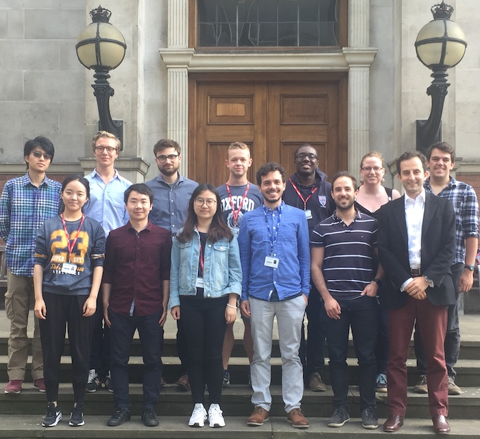 Group photo at Imperial College London
