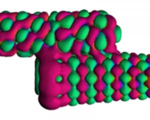 Transport eigenchannel between two carbon nanotubes